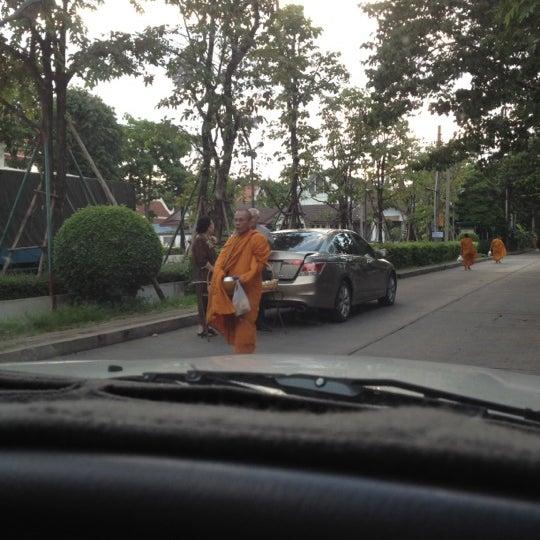Photo taken at ลานใส่บาตร by Som O D. on 6/28/2012