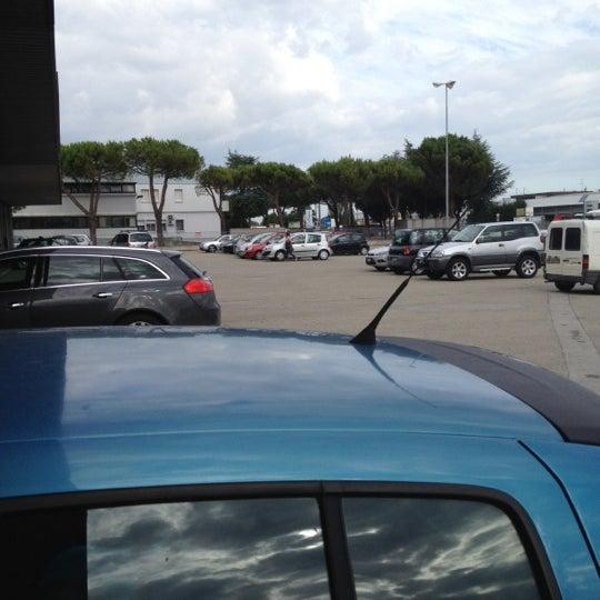 Photo taken at Parcheggio Via Sassonia by Namer M. on 6/11/2012