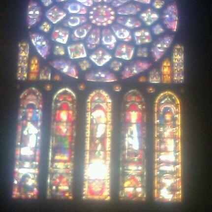 Photo taken at Cathedral Basilica of Our Lady by Kirsi S. on 7/25/2012
