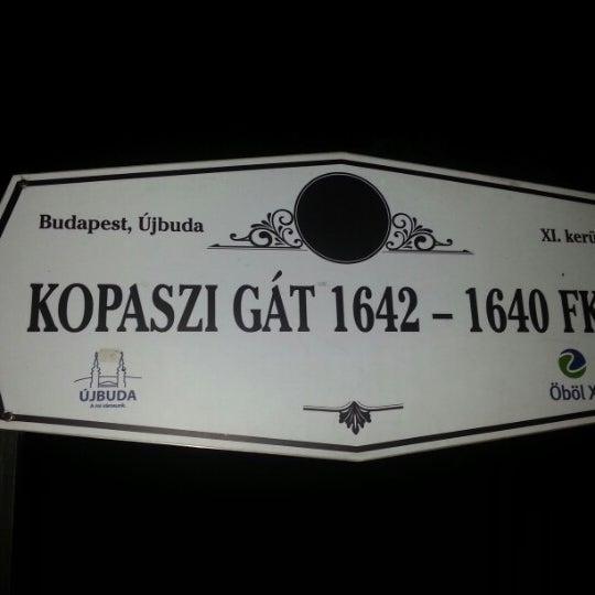 Foto tomada en Kopaszi-gát por [Geri] el 8/8/2012