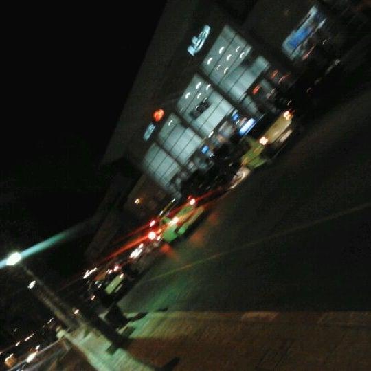 Photo taken at Gare de Mohammédia  محطة المحمدية by Pappy C. on 2/13/2012