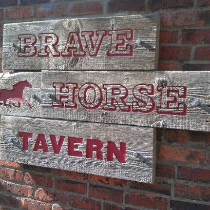 Photo taken at Brave Horse Tavern by Bryan B. on 8/3/2012
