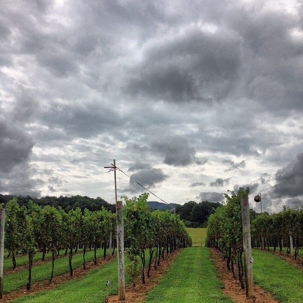 Photo taken at Three Fox Vineyards by Frank S. on 9/3/2012