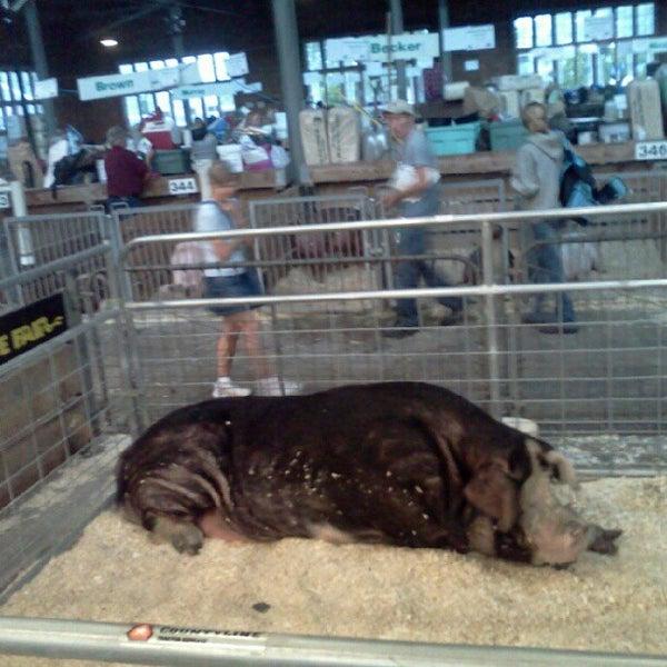 Photo taken at Swine Barn by Ryan W. on 8/23/2012