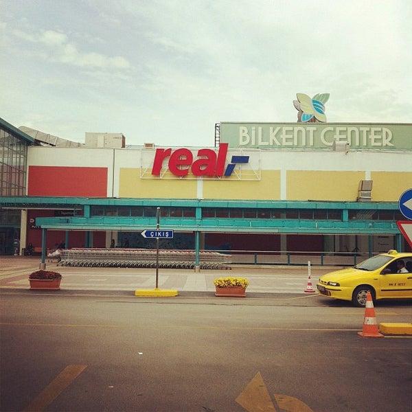 Photo taken at Bilkent Center by Tuna Y. on 5/12/2012