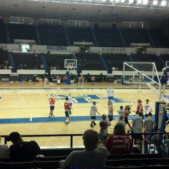 Photo taken at Memorial Coliseum by Beth K. on 8/4/2012