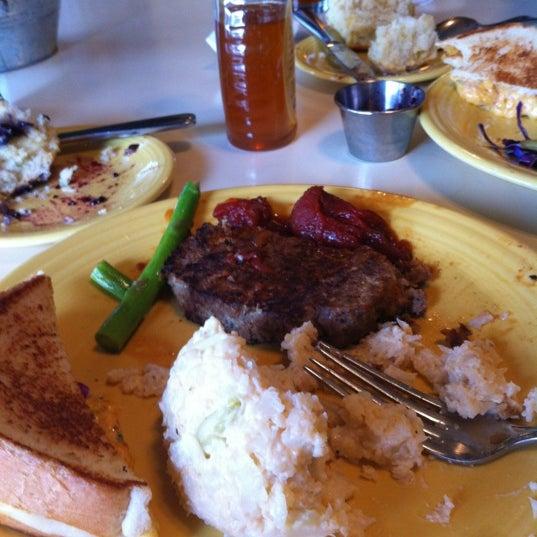 Photo taken at Tupelo Honey by Alexis M. on 2/13/2012