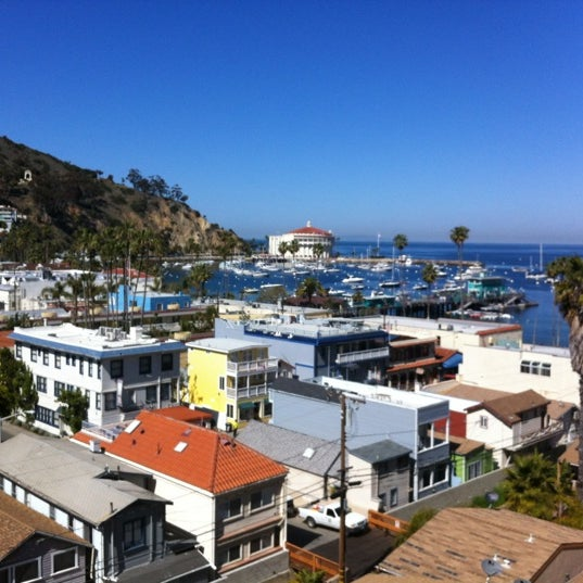 Photo taken at Santa Catalina Island by Damian R. on 3/9/2012