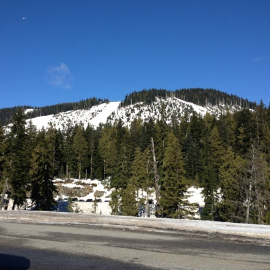 Photo taken at Cypress Mountain Ski Area by Steve K. on 2/13/2012