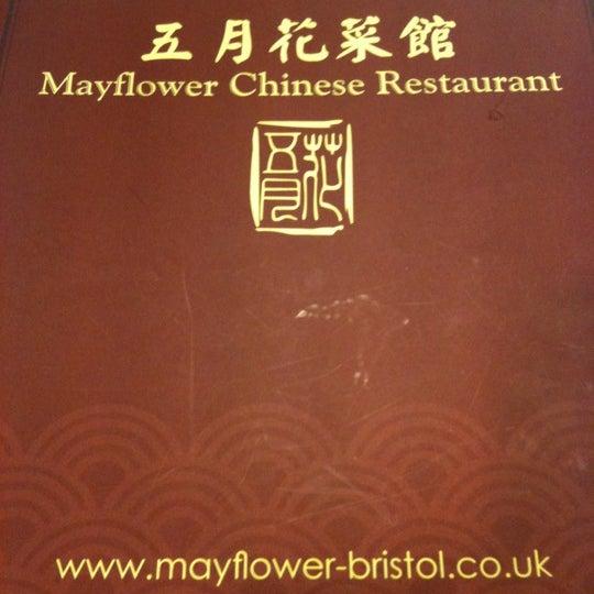 Mayflower Chinese Restaurant London Menu