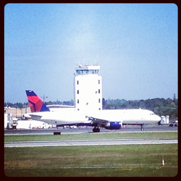 Photo taken at Portland International Jetport (PWM) by Brent D. on 8/27/2012