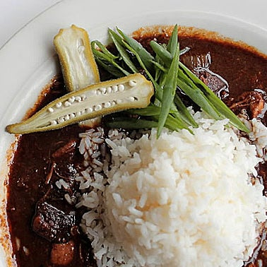 The Gumbo Ya-Ya ($12) is rooted in Cajun Country, outside New Orleans, where roux tends to be darker, edging toward black. A must-try!