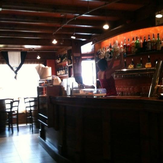 Photo taken at La Vecia Osteria by Denis F. on 5/12/2012
