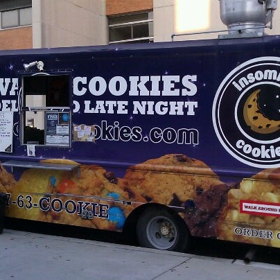 Cookies And Ice Cream Food Truck