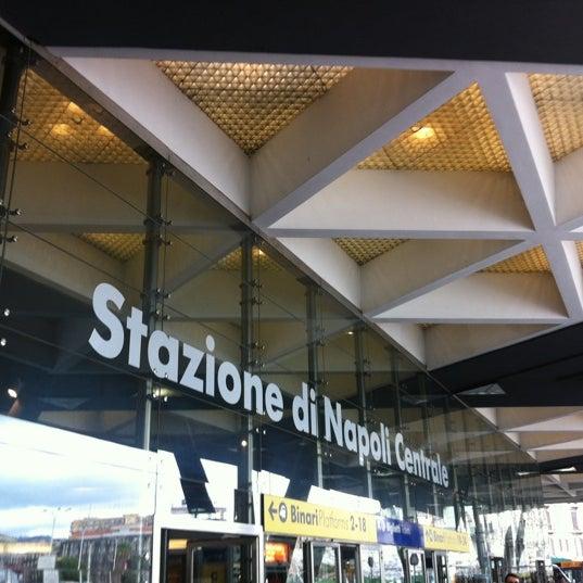 Photo taken at Napoli Centrale Railway Station (INP) by Sandrita G. on 9/6/2012