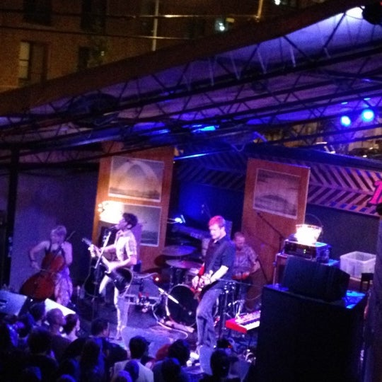 Photo taken at The Mohawk by Gaurav M. on 7/29/2012