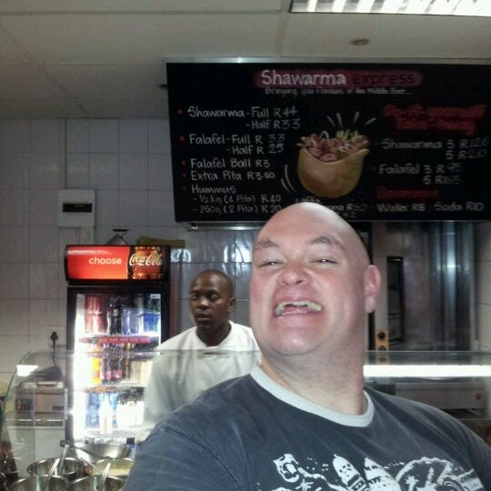 Photo taken at Shawarma Express by James C. on 4/20/2012