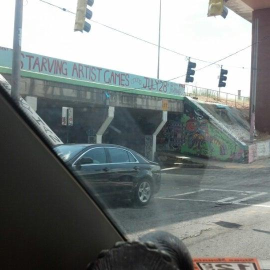 Photo taken at Krog Street Tunnel by beefybeffy on 7/24/2012
