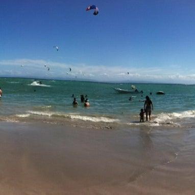 Photo taken at Playa El Yaque by Beatriz P. on 2/18/2012