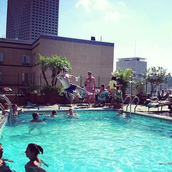 Hotel Monteleone Rooftop Pool & Patio - French Quarter - 5 tips