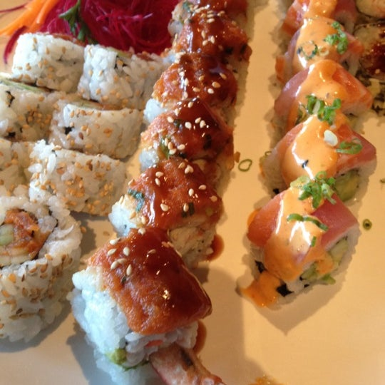 Photo taken at Hana by Sushi Hana by Christy Ann on 9/13/2012