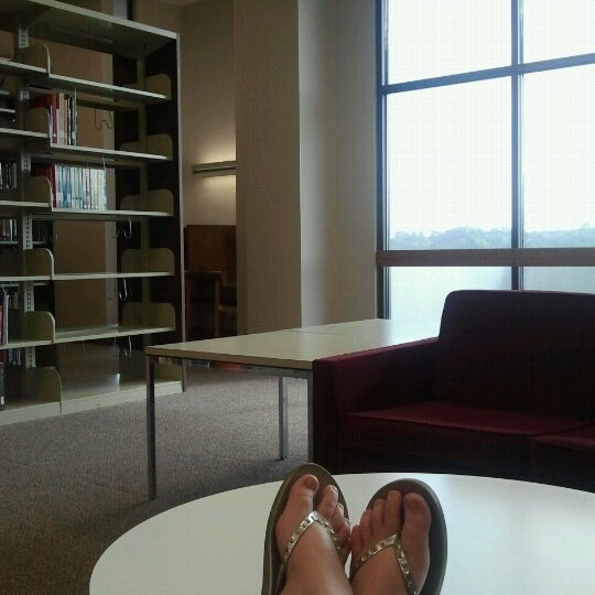 Photo taken at Houston Cole Library by Tori K. on 7/9/2012