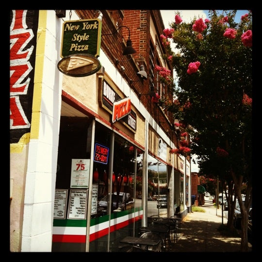 Photo taken at Burke Street Pizza by Diego S. on 7/13/2012