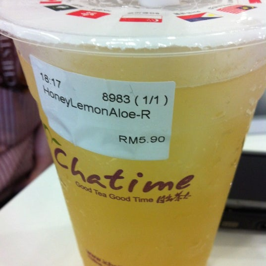 Photo taken at Chatime by Missys_missys on 2/29/2012
