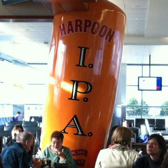 Photo taken at Harpoon Tap Room by Sara T. on 3/24/2012