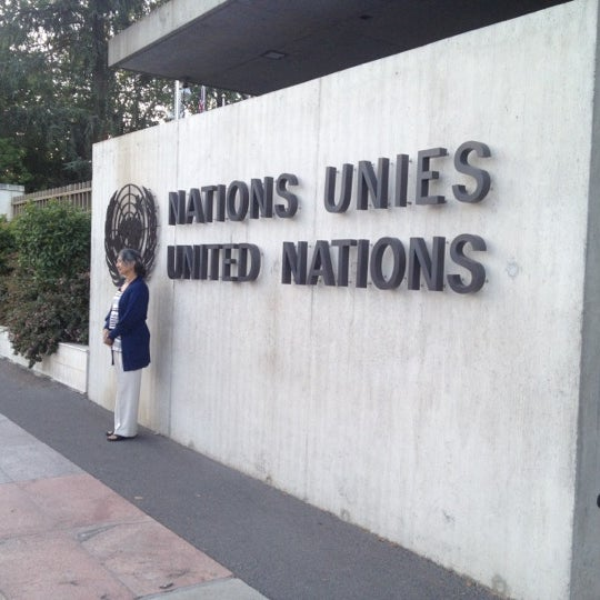 Photo taken at Palais des Nations by Annie V. on 8/9/2012