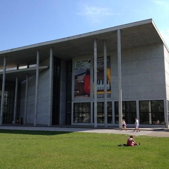 Photo taken at Pinakothek der Moderne by Masahiro O. on 8/5/2012