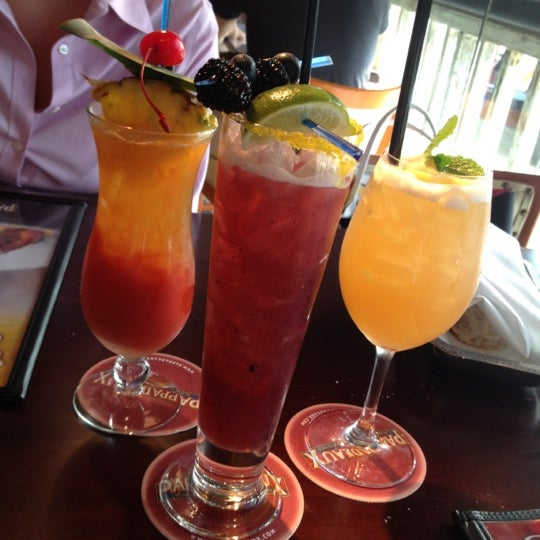 Photo taken at Pappadeaux Seafood Kitchen by Emily on 8/7/2012