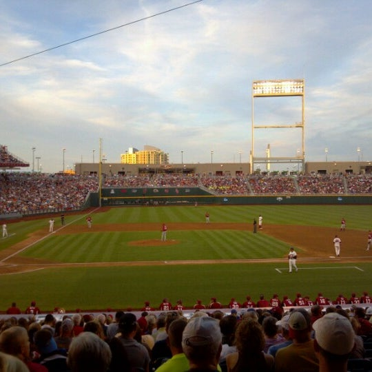 Photo taken at TD Ameritrade Park by Jim P. on 6/23/2012