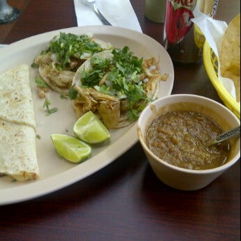 Photo taken at Taqueria el Chorrito by Eli M. on 2/22/2012