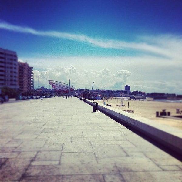 Photo taken at Praia do Titan by Artur S. on 4/28/2012