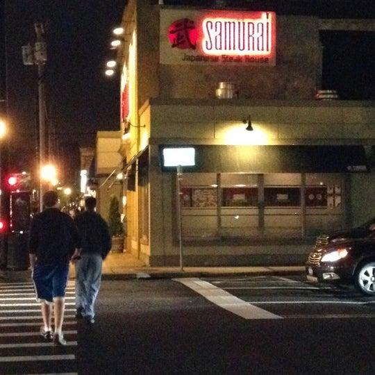 Photo taken at Samurai Japanese Steakhouse by Keith O. on 5/4/2012