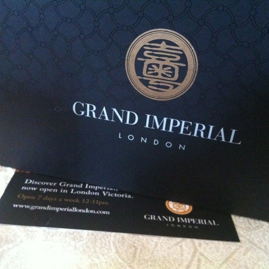 Photo taken at Grand Imperial by Mart Gil on 8/24/2012