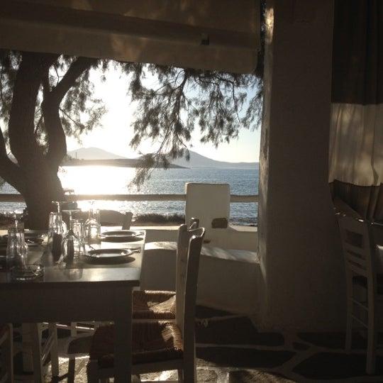 Photo taken at Siparos by Olga D. on 8/24/2012