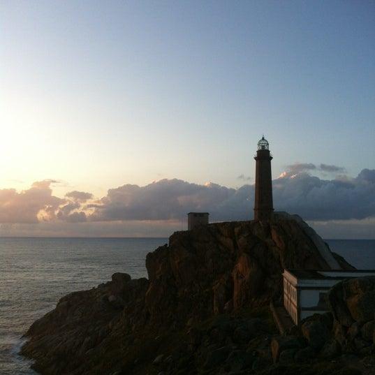 Photo taken at Faro de Cabo Vilán by Rodrigo V. on 8/4/2012