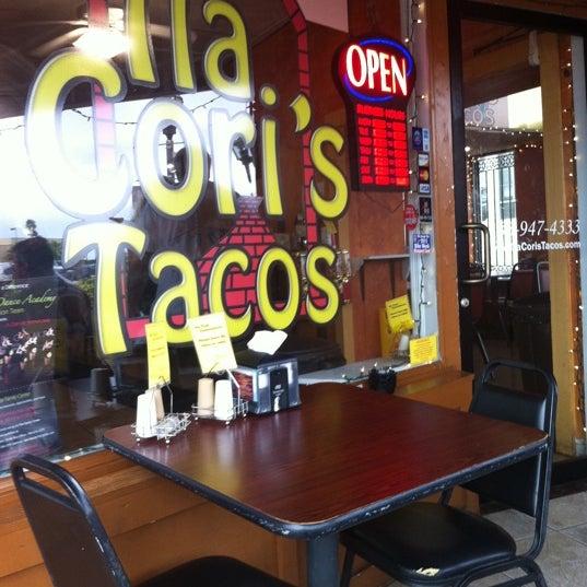 Photo taken at Tia Cori's Tacos by Richard D. on 3/10/2012