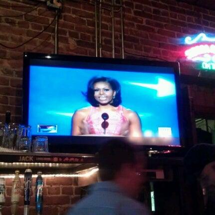 Photo taken at Manuel's Tavern by Nikki on 9/5/2012