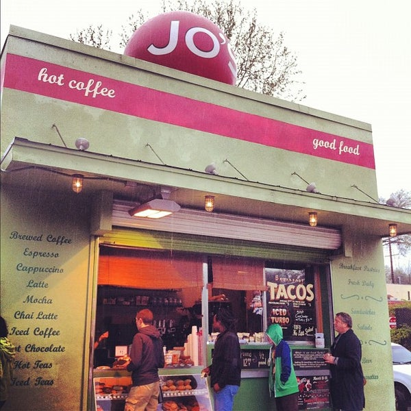Photo taken at Jo's Coffee by Kat E. on 3/11/2012