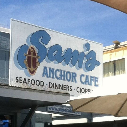 Photo taken at Sam's Anchor Cafe by Sylvia P. on 6/2/2012