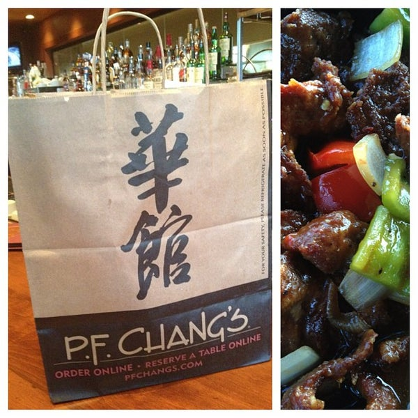 Photo taken at P.F. Chang's by Fortune C. on 9/7/2012