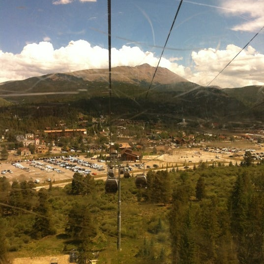 Photo taken at Breck Connect Gondola by Christine W. on 8/7/2012