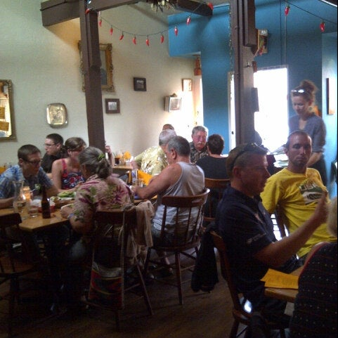Photo taken at Taqueria Belly by Parker J. on 6/30/2012