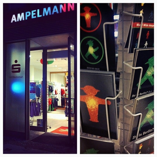 Photo taken at AMPELMANN Shop am Gendarmenmarkt by Nastya V. on 4/9/2012