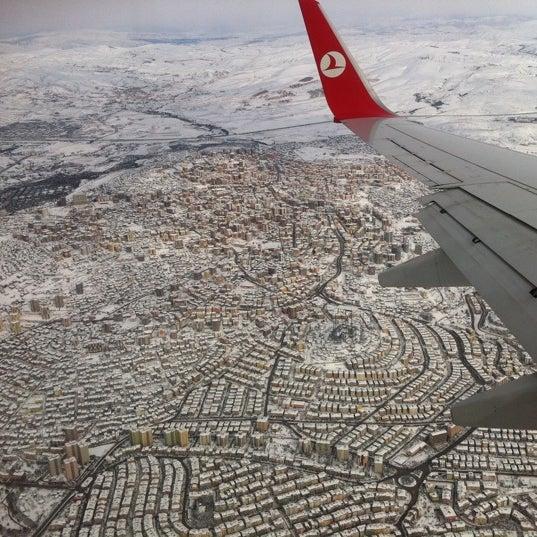 Photo taken at Ankara Esenboğa Airport (ESB) by Erkan M. on 3/1/2012