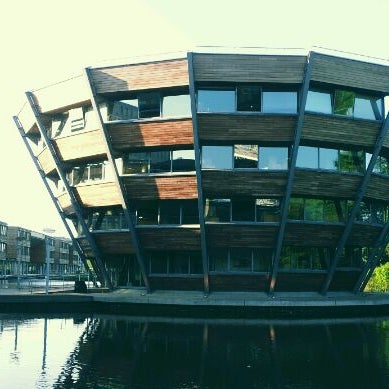 Photo taken at Djanogly Learning Resource Centre by Morgan G. on 5/26/2012