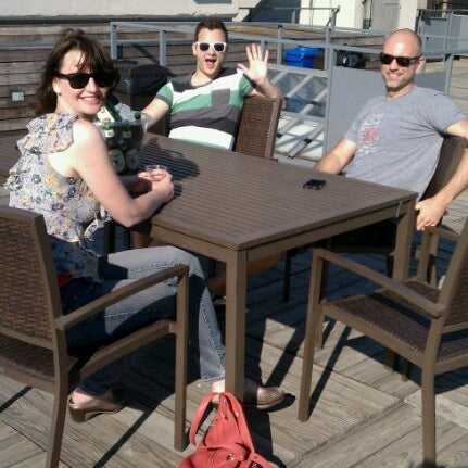 Photo taken at Meetup HQ Roof Deck by gomezcam on 6/15/2012